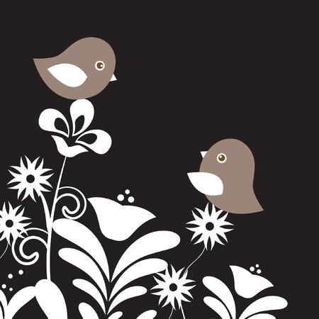 song bird: Two birds in love