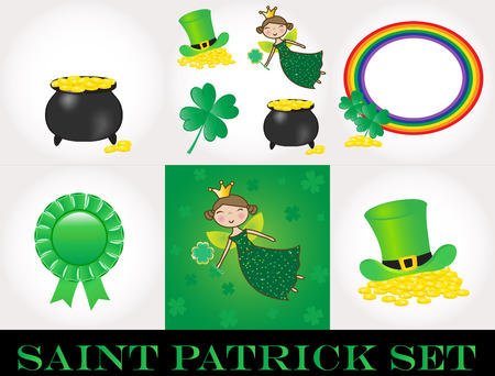 St Patrick day set Stock Vector - 9078148