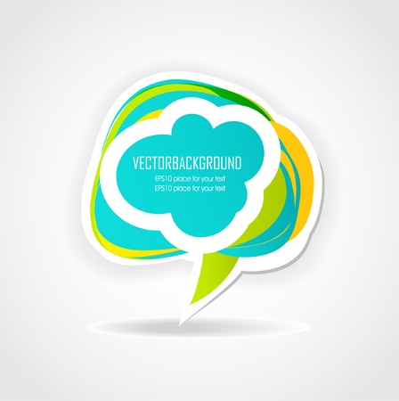 hand drawn: Set of hand drawn vector speech bubbles