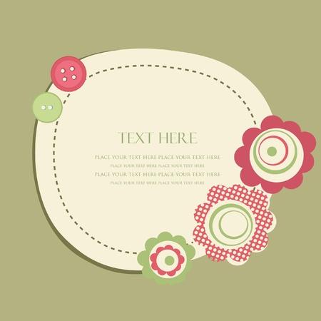 Vintage frame für Ihr Design Illustration