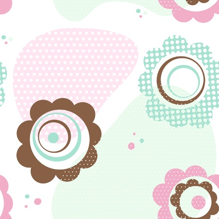 Floral seamless pattern  Stock Vector - 10304159