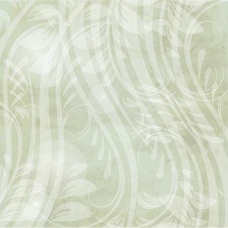 あなたの設計の抽象的な花を持つヴィンテージのカード  イラスト・ベクター素材