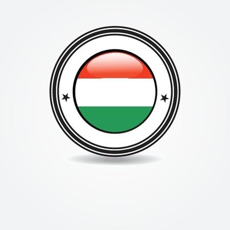 enclosure:  Italian flag in rubber stamp