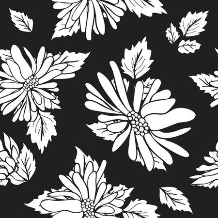Floral seamless beautiful pattern Stock Photo - 19147204
