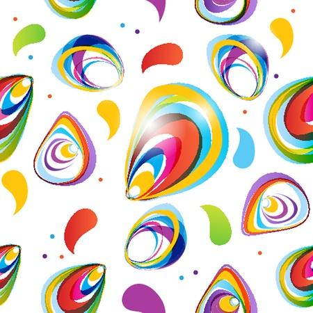 Floral seamless beautiful pattern Illustration