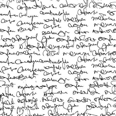 抽象的なテキストとビンテージのシームレス パターン 写真素材 - 19459763
