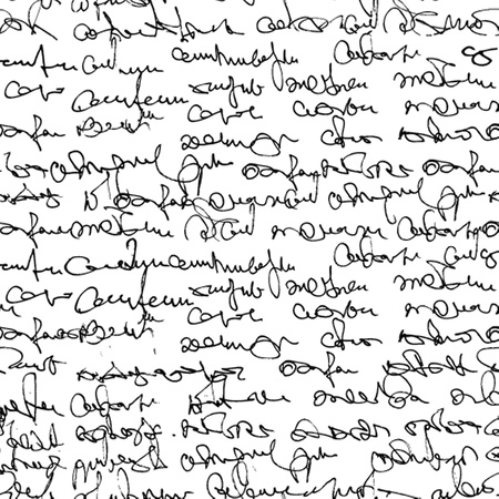 type writer: Vintage seamless pattern with abstract text