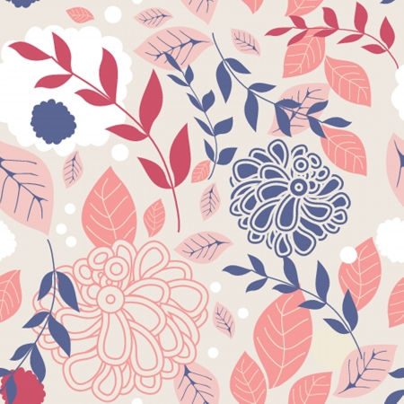 Floral seamless beautiful pattern Stock Vector - 19663642