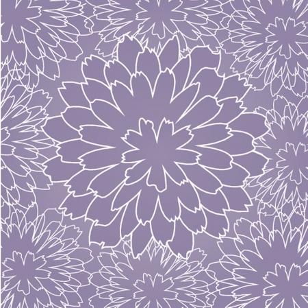 botanika: Květinový vzor bezešvé v podzimních barvách Ilustrace