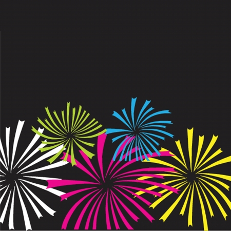 Colorful vector fireworks Vector
