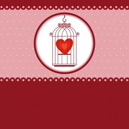 caged: Heart in cage