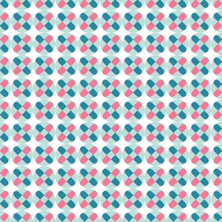 shingles: Geometric background in vintage colors