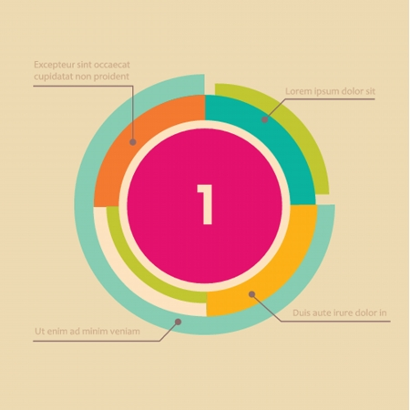 vector web design template  lines in perspective photo