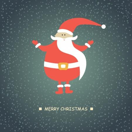 klaus: Christmas card with Santa Klaus