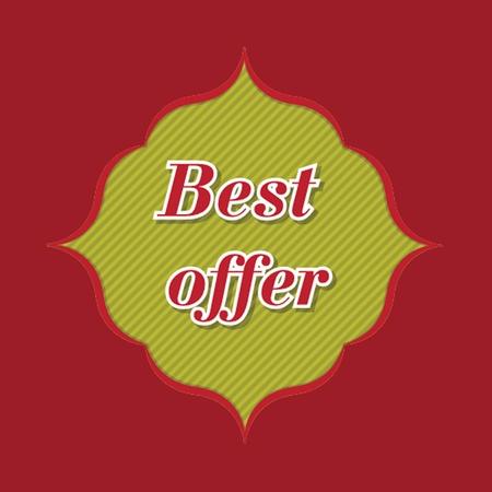 best offer banner  photo