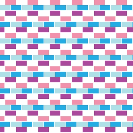 checked fabric: AbsSeamless checked fabric pattern on paper texture. Geometric backgroundtract bricks. seamless pattern