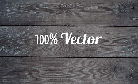 Bois texture de fond. Vector illustration d'un mur de planches de bois bleu. Vecteurs