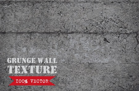 scrape: Grunge wall vector  texture. Vintage texture. Grey wall background. Blue paint on grey wall.