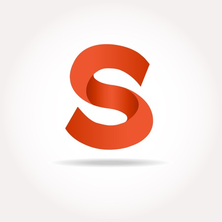 Letter S logo design template elements in different bright colors Logo
