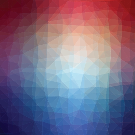 luminosity: Blue and pink luminosity geometric low poly style vector illustration graphic background. Illustration