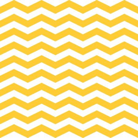 シームレスなジグザグ シェブロン パターン。黄色と白のベクトルの背景 写真素材 - 37848777