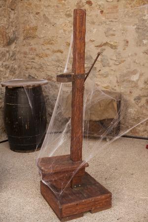 desprecio: Instrumentos medievales de tortura de la Inquisici�n en Espa�a.