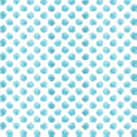 circulos azules: Seamless polka dot pattern from watercolor paint blue circles. Vector illustration for your design. Vectores