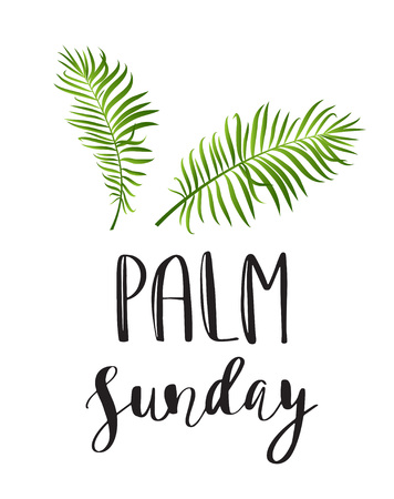 418 palm sunday stock vector illustration and royalty free palm rh 123rf com free clipart palm sunday Jesus Palm Sunday