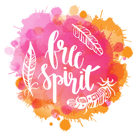 sketched arrows: Boho Style Lettering quotes and hand drawn elements Vector illustration for t shirt, poster or banner design.