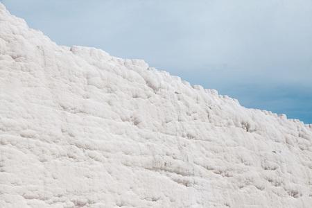 Pammukale, 칼슘의 석회화. 터키 리조트, 칼슘이 풍부한 독특한 열수 스톡 콘텐츠