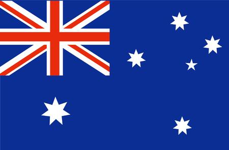 Australia Flag. National Australian Flag. Vector illustration