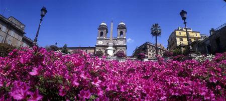 trinita: Rome, The steps of Piazza di Spagna and Trinita dei Monti
