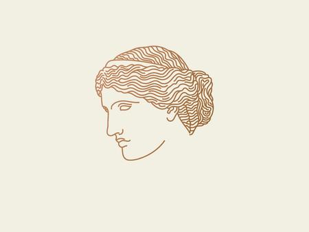 Venus logo Illustration