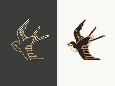 swallow bird logo