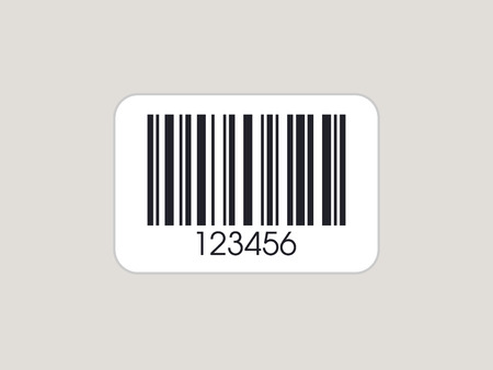 Realistic Barcode. Barcode icon. Simple vector bar code