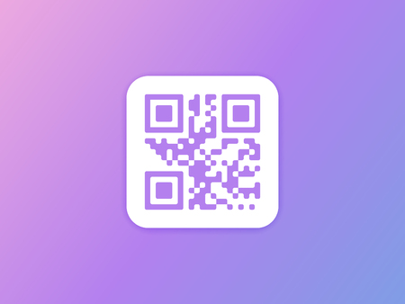 QR-code pictogram. Vector illustratie Stockfoto - 89248878