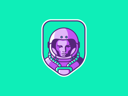 Spaceman vector illustration 向量圖像
