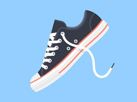 Sneakers. Sport shoes. Vector illustration