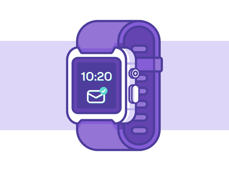 Smart Watch Vector Illustration 向量圖像