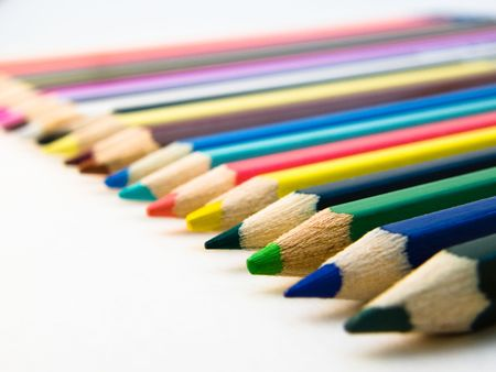 colored pencils Stock Photo - 3952435