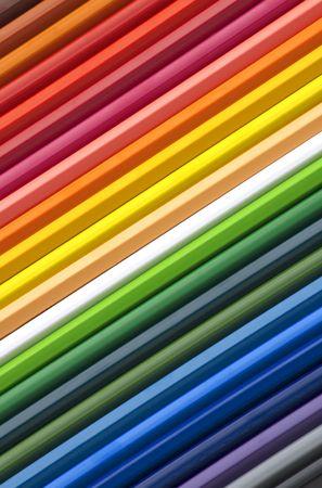 color pencils background Stock Photo - 3197096