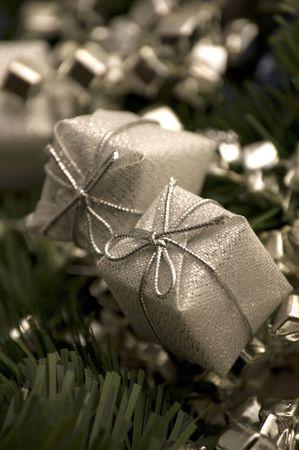 silver christmas photo