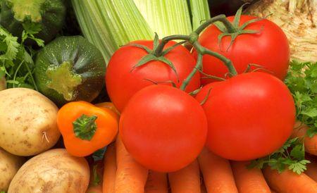 野菜の背景 写真素材