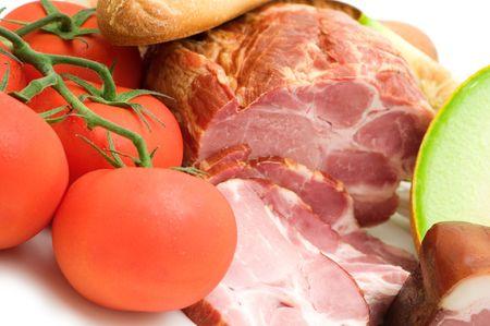 delicacy: delicacy mellon ham and tomato