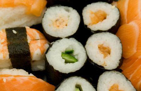 tekka: sushi Stock Photo