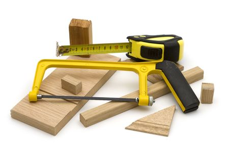 joinery: joinery tool on white background