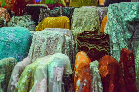 Indian fabrics for traditional garments
