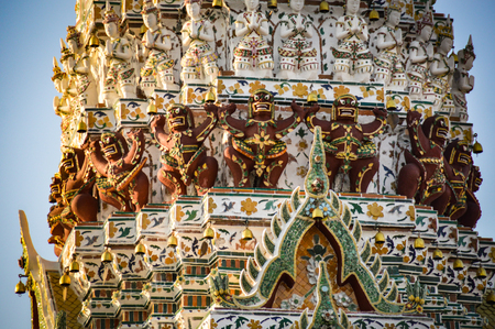 Wat Arun also known as the Temple of Dawn in Bangkok, Thailand