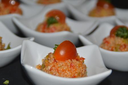 a couscous salad than Amuse Bouche