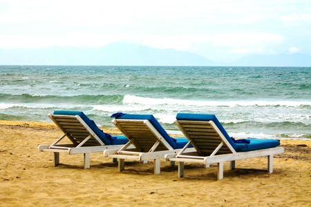 Loungers and the view of the open sea. Thats what you imagine for a relaxing holiday